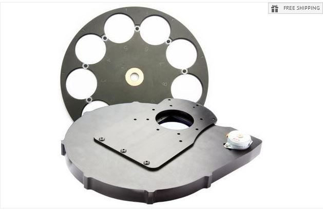 APOGEE 9 POSITION COLOR FILTER WHEEL - 50MM ROUND