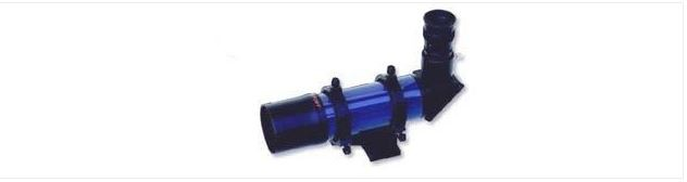 ANTARES 7X50 RIGHT ANGLE FINDERSCOPE - BLACK
