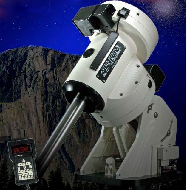 ASTRO-PHYSICS 3600GTO GERMAN EQUATORIAL MOUNT WITH SERVO DRIVE