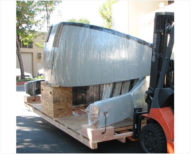 ASTRO HAVEN CRATING & HANDLING FOR 18-FOOT DOME - US SHIPMENT