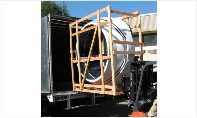 ASTRO HAVEN CRATING & HANDLING FOR 7-FOOT DOME - US SHIPMENT