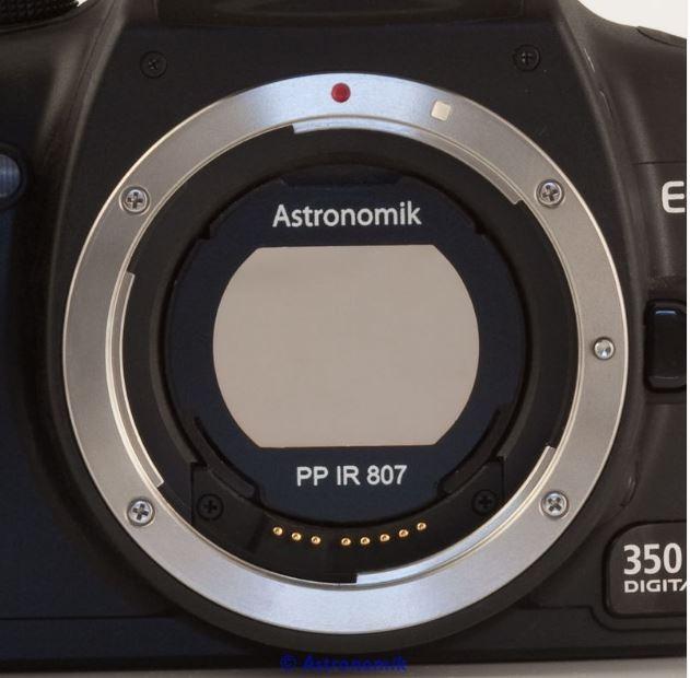 ASTRONOMIK PLANET IR PRO 807 FILTER - CANON EOS APS CLIP