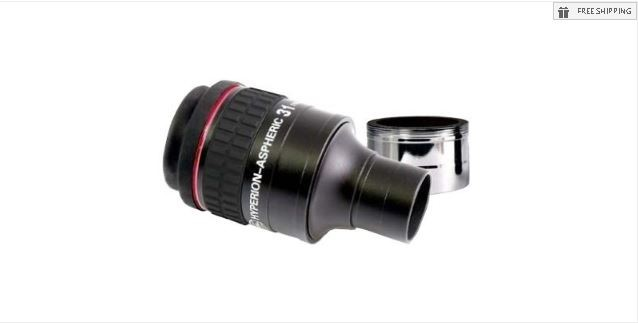 """BAADER 31MM HYPERION ASPHERIC EYEPIECE - 1.25""""/ 2"""""""