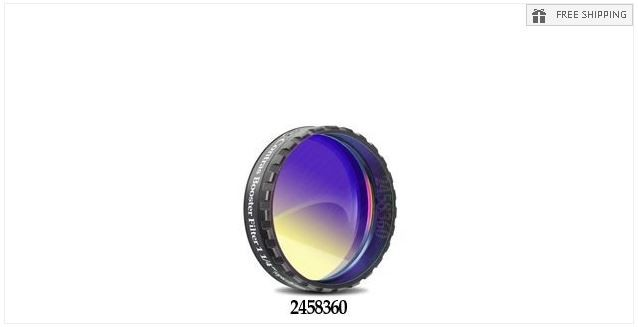 """BAADER CONTRAST BOOSTER FILTER - 1.25"""" ROUND MOUNTED"""
