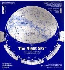 CHANDLER NIGHT SKY PLANISPHERE 50- 60