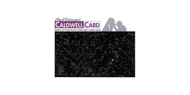 CALDWELL CARD - LAMINATED