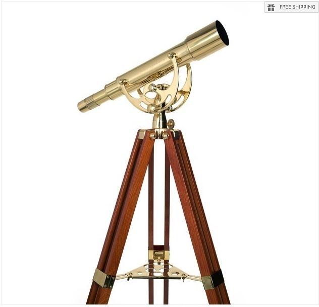 CELESTRON AMBASSADOR 50MM BRASS TELESCOPE