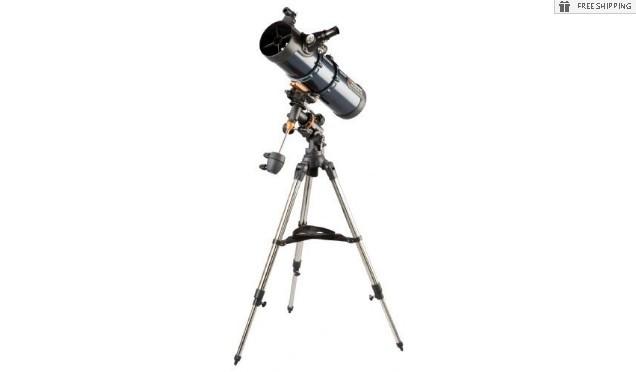CELESTRON ASTROMASTER 130EQ-MD TELESCOPE W/ MOTOR DRIVE