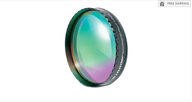 "CELESTRON OXYGEN III NARROWBAND FILTER - 2"" ROUND MOUNTED"