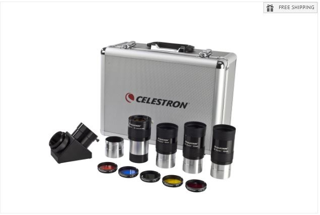 CELESTRON TELESCOPE EYEPIECE & FILTER ACCESSORY KIT - 2""