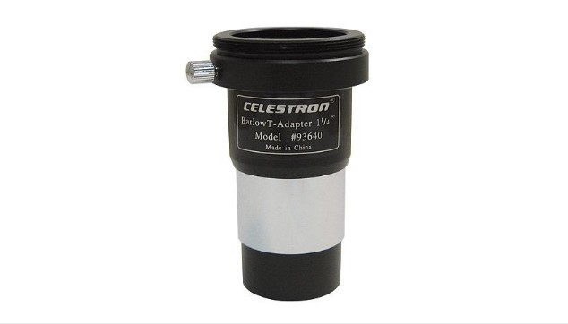 CELESTRON UNIVERSAL T-ADAPTER WITH BARLOW - 1.25""