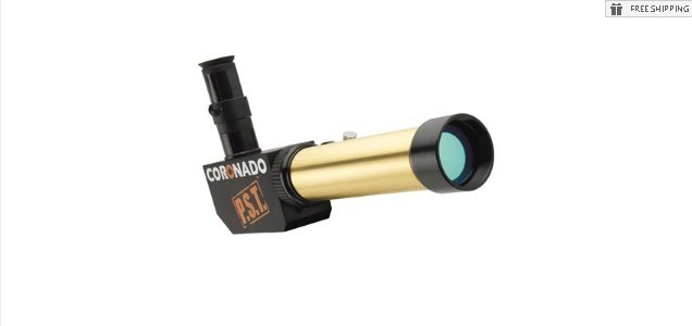 CORONADO PST DOUBLE STACK - 0.5A H-ALPHA SOLAR TELESCOPE