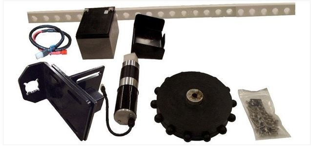 EXPLORA-DOME ROTATION KIT - GEAR, TRACK, MOTOR & BATTERY