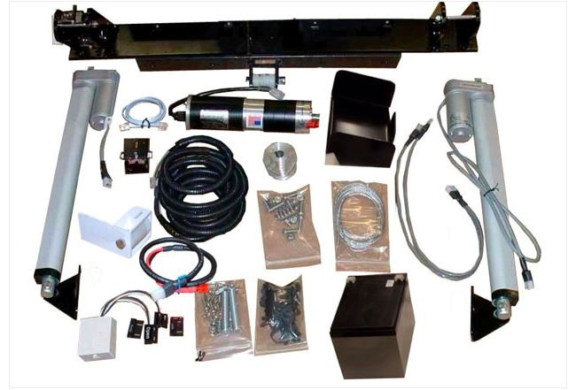EXPLORA-DOME SHUTTER AUTOMATION KIT - MOTORS & HARDWARE