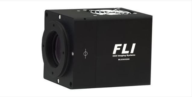 FLI MICROLINE E2V 42-40 BACK ILLUMINATED DEEP DEPLETION SENSOR WITH 43MM HIGH SPEED SHUTTER