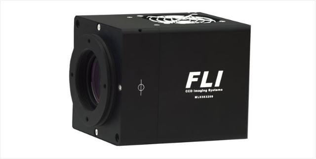 FLI MICROLINE E2V 47-10 GRADE ONE BACK ILLUMINATED DEEP DEPLETION SENSOR WITH 25MM OR 43MM HIGH SPEED SHUTTER