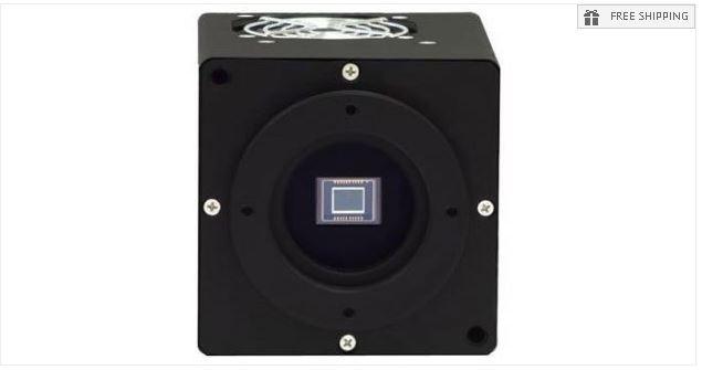 FLI MICROLINE ML8300 MONOCHROME CCD CAMERA WITH 43MM SHUTTER