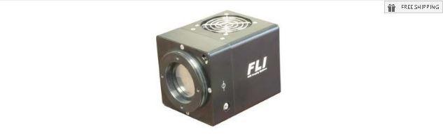 FLI MICROLINE ML1107 MONOCHROME SPECTROSCOPY CCD CAMERA - NO MECHANICAL SHUTTER