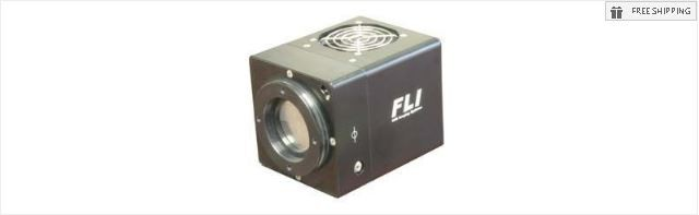 FLI MICROLINE ML29050 MONOCHROME GRADE 2 CCD CAMERA - NO MECHANICAL SHUTTER