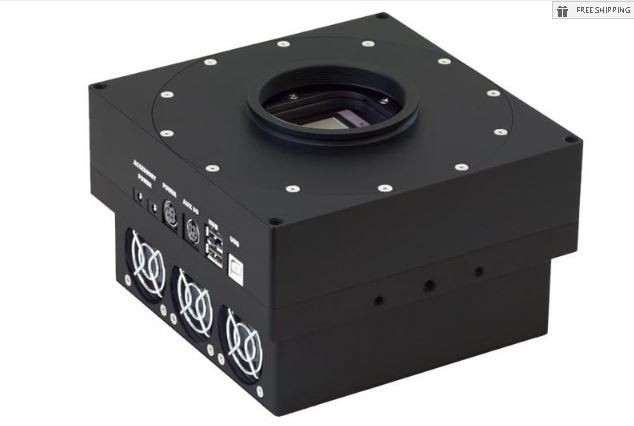 FLI PROLINE PL4710-1-DD MONOCHROME CCD CAMERA WITH 63.5 MM SHUTTER