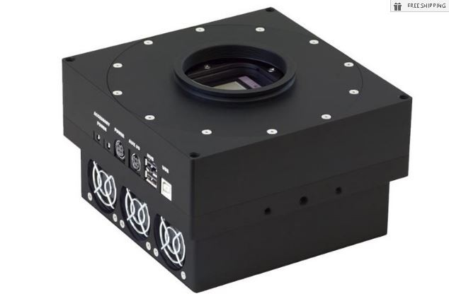 FLI PROLINE PL4710-1-MB MONOCHROME CCD CAMERA WITH 63.5 MM SHUTTER