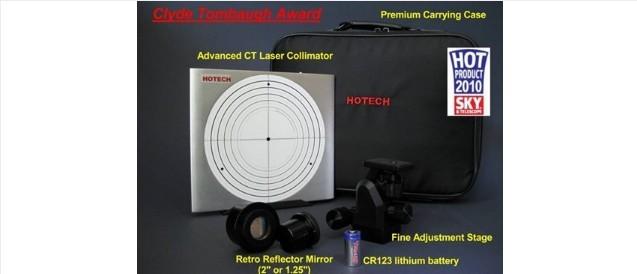 "HOTECH ADVANCED CT LASER COLLIMATOR W/FINE ADJUSTMENT STAGE - 2"""