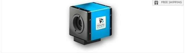 IMAGING SOURCE IS-1MU USB MONOCHROME CCD CAMERA
