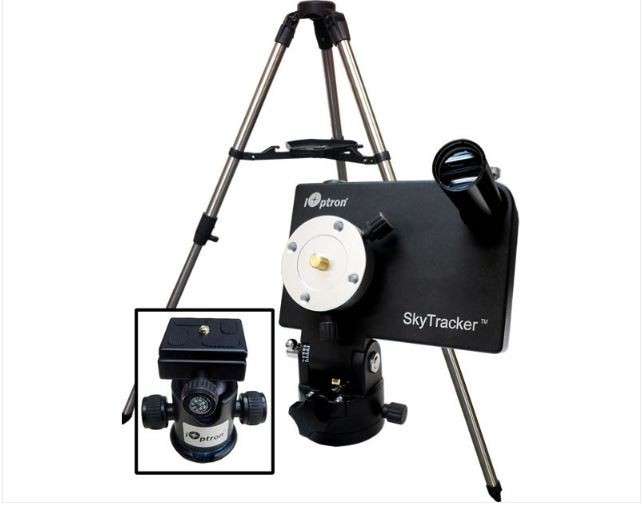 IOPTRON SKYTRACKER CAMERA MOUNT PACKAGE - BLACK