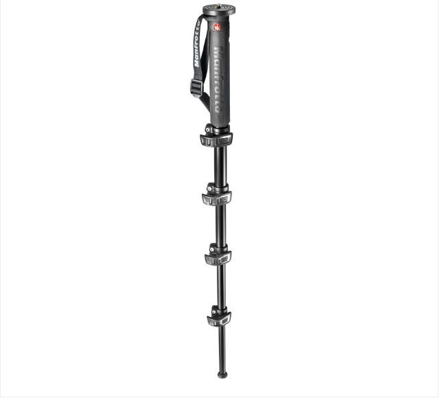 MANFROTTO 5-SECTION XPRO MONOPOD - BLACK