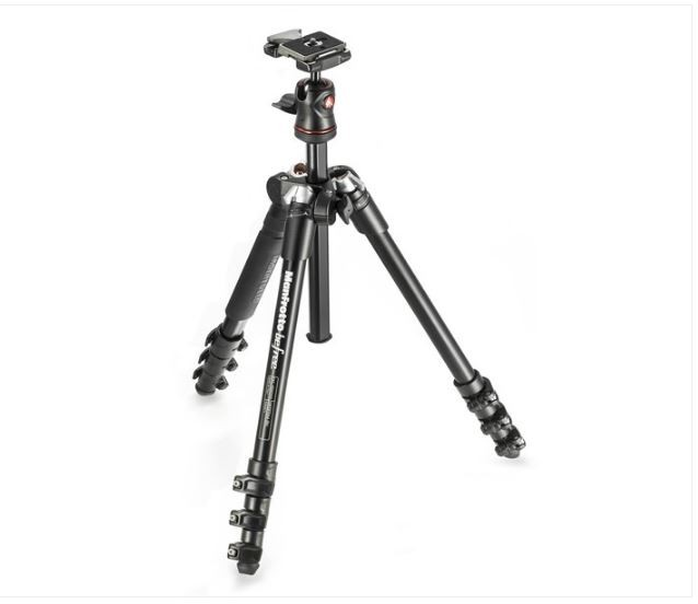 MANFROTTO BEFREE TRIPOD KIT (BLACK)