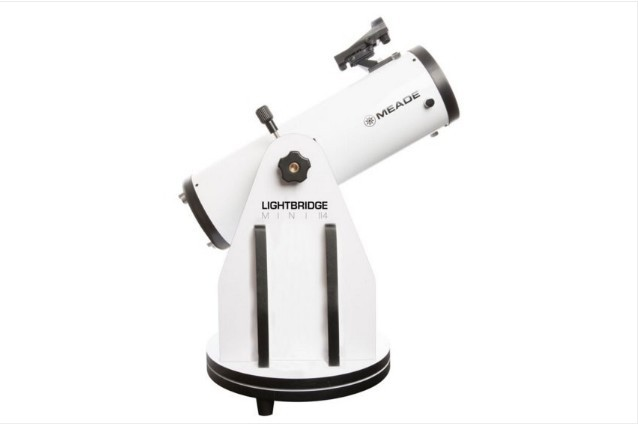 MEADE 114MM LIGHTBRIDGE MINI TELESCOPE