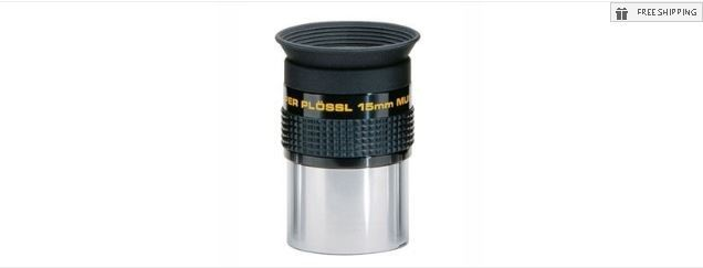 MEADE 15MM SERIES 4000 SUPER PLOSSL EYEPIECE - 1.25""