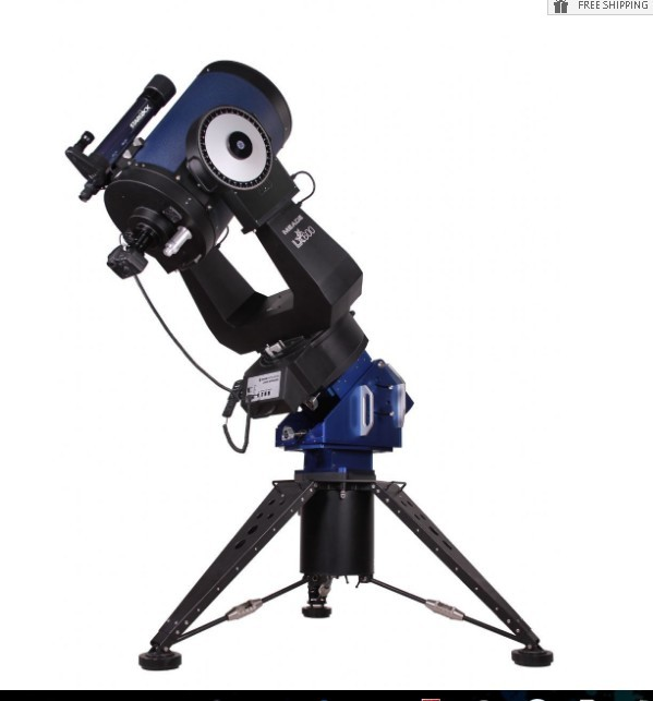 "MEADE 16"" LX600 ACF TELESCOPE WITH STARLOCK"