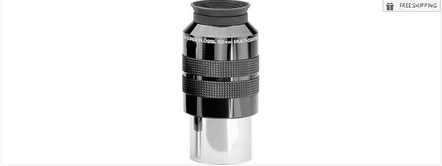 MEADE 56MM SERIES 4000 SUPER PLOSSL EYEPIECE - 2""