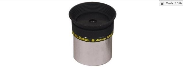 MEADE 6.4MM SERIES 4000 SUPER PLOSSL EYEPIECE - 1.25""