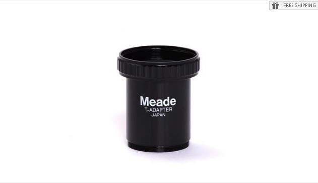 MEADE #62 T-ADAPTER FOR PRIME FOCUS ASTROPHOTOGRAPHY