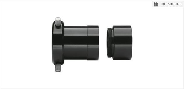 """MEADE SC THREAD TO 2"""" ACCESSORY ADAPTER FOR LX & ACF 200 TELESCOPES"""