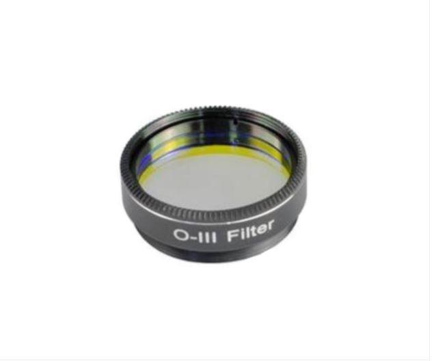 """FUTURE OPTICS OXYGEN III (OIII) FILTER - 1.25"""" MOUNTED"""
