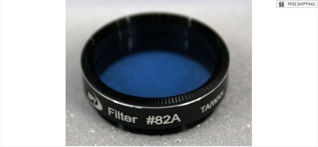 TPO #82A LIGHT BLUE COLOR FILTER & CASE - 1.25""