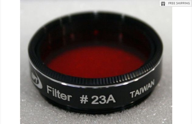 TPO #23A LIGHT RED FILTER & CASE - 1.25""