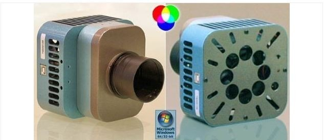 "OPTICSTAR DS-616C 1.8"" DEEP SKY COLOR CCD CAMERA"