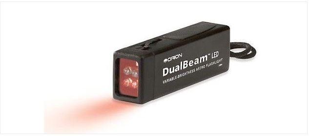 ORION DUALBEAM LED ASTRONOMY FLASHLIGHT