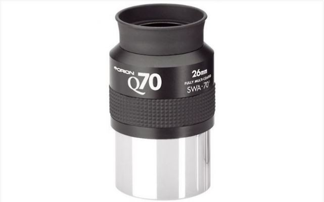 ORION 26MM Q70 SUPER WIDE ANGLE EYEPIECE - 2""