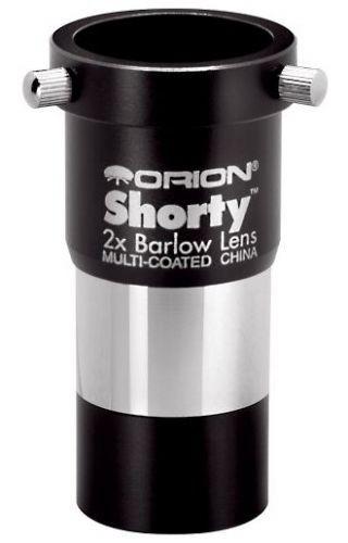 "ORION 2X SHORTY BARLOW LENS - 1.25"""