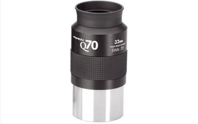 ORION 32MM Q70 SUPER WIDE ANGLE EYEPIECE - 2""