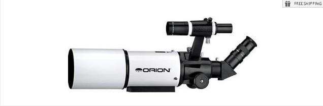 ORION 80-T SHORTTUBE TELESCOPE - TERRESTRIAL PACKAGE