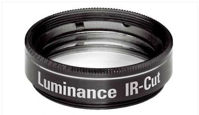 """ORION LUMINANCE UV/IR BLOCKING FILTER - 1.25"""" ROUND MOUNTED"""