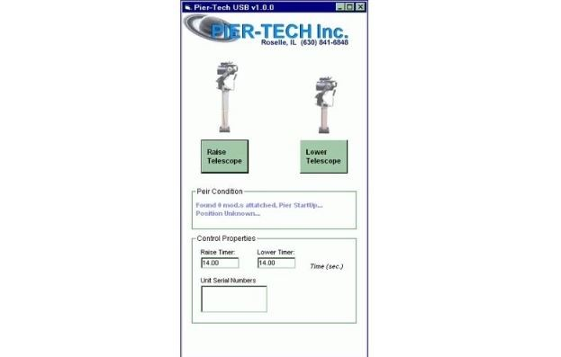 PIER-TECH REMOTE CONTROL SOFTWARE/HARDWARE PACKAGE
