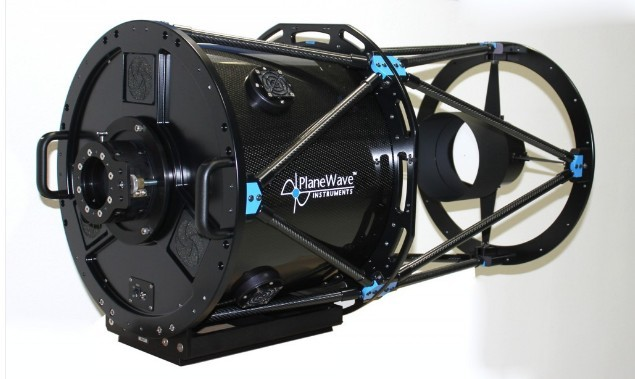"PLANEWAVE 17"" CDK TELESCOPE WITH FUSED SILICA MIRROR"