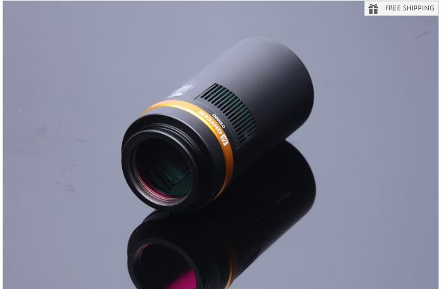 QHY 10 ONE SHOT COLOR CAMERA WITH 10 MP SONY ICX493AQA SENSOR - QHY10